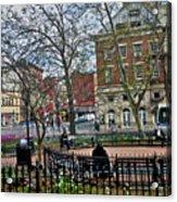 Greenwich Village New York City Acrylic Print