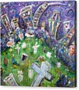 Greenwood Graveyard Brooklyn Acrylic Print