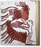 Greeting 7 - Tile Acrylic Print
