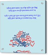 Greeting Card 06 Acrylic Print