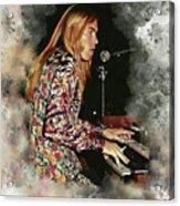 Gregg Allman Acrylic Print