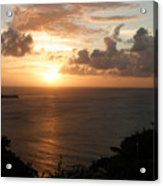 Grenadian Sunset I Acrylic Print