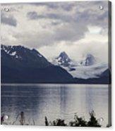 Grewingk Glacier Acrylic Print