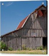 Grey Barn Acrylic Print