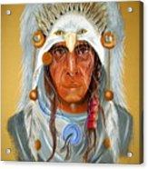 Grey Eagle... Acrylic Print