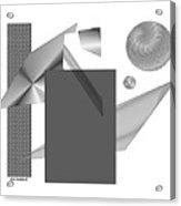 Greyscale Acrylic Print
