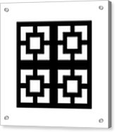 Grid 1  Acrylic Print