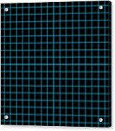 Grid Boxes In Black 18-p0171 Acrylic Print