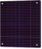 Grid Boxes In Black 30-p0171 Acrylic Print
