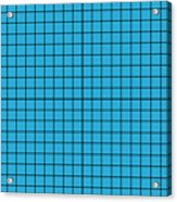 Grid In Black 18-p0171 Acrylic Print