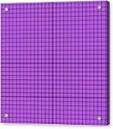 Grid In Black 30-p0171 Acrylic Print