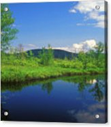 Gridley River Wapack Mountains Acrylic Print