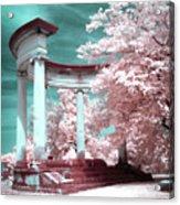 Grieving Columns Acrylic Print