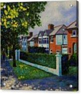 Griffith Avenue Dublin  Acrylic Print