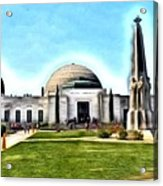 Griffith Observatory, Los Angeles, California Acrylic Print