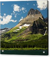 Grinell Mountain Acrylic Print