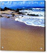 Gringo Beach Vieques Puerto Rico Acrylic Print