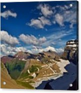 Grinnell Glacier Overlook Acrylic Print