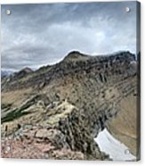 Grinnell Glacier Overlook Panorama - Glacier National Park Acrylic Print