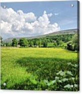 Grinton Meadows Acrylic Print