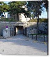 Gripe Fort Entrance Acrylic Print