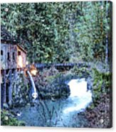 Griss Mill Watercolor Acrylic Print
