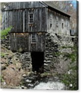Grist Mill At Moore State Park Acrylic Print