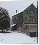 Grist Mill Of Port Hope Acrylic Print