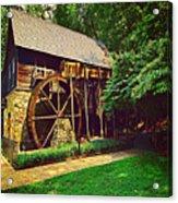 Gristmill - Charlottesville Virginia Acrylic Print