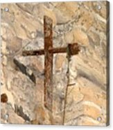 Gristmill Cross Two Acrylic Print