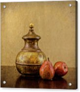 Grit And Pears Acrylic Print