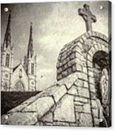 Gritty Faith Acrylic Print