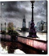 Gritty Urban London Landscape Acrylic Print