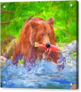 Grizzly Delights Acrylic Print