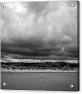 gronant dunes near Talacre beach sssi north wales uk Acrylic Print