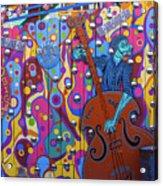Groovy Music Acrylic Print