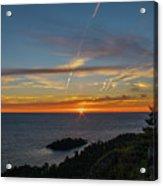 Gros Cap Sunset Acrylic Print
