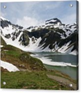 Grossglockner High Alpine Road Acrylic Print