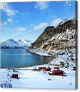 Grotfjord Norway Acrylic Print