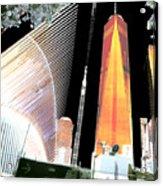 Ground  Zero Freedom Tower Formerly World Trade  Centre Wtc New York Photo Taken On July 4 2015 Usa  Acrylic Print