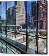 Ground Zero From World Financial Center Acrylic Print