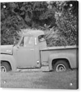 Grounded Pickup Acrylic Print