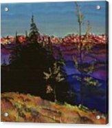 Grouse Mountain Acrylic Print