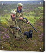 Grousing Scotland Nbr 1 Acrylic Print