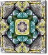 Grren Stones Acrylic Print