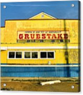 Grubstake Acrylic Print by Steven Ainsworth