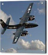 Grumman Tigercat Acrylic Print