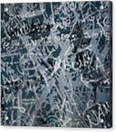 Grunge Background I Acrylic Print by Carlos Caetano