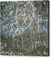Grunge Background IIi Acrylic Print