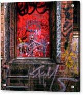 Grunge Junkies Unite Acrylic Print